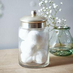 Beautiful Apothecary Jar  Medium  Transitional  Bathroom Storage Jars  By