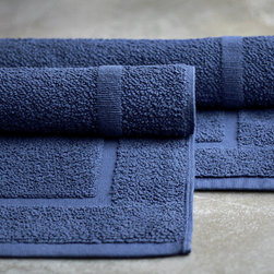 Bath - sea blue bath mat