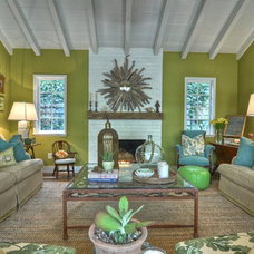 Eclectic Living Room by Kathleen DiPaolo Designs