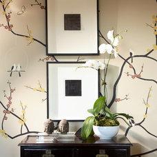Transitional  by Robert Brown Interior Design
