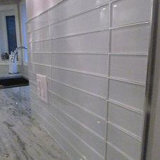 Modern Tile by Michelle Yaworski – Gem Cabinets Ltd