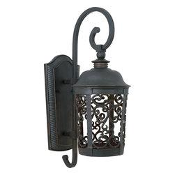Maxim Lighting - Bronze Whisper Dark Sky EE 1 Light with Dark Sky Outdoor Wall Sconce - Product