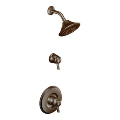 Moen - Moen Rothbury Exacttemp Shower Only, Less Valve, Oil Rubbed Bronze (TS8115ORB) - Moen TS8115ORB Rothbury Exacttemp Shower Only, Less Valve, Oil Rubbed Bronze