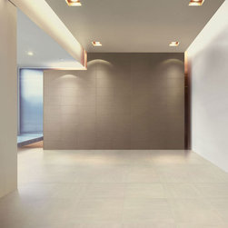 Royal Stone & Tile Refin Chromie Porcelain - The Refin Chromie Porcelain floor tiles satisfy the demands of both form and function.  Available in the Royal Stone quick ship program we have more than 30,000 s/f of this line in stock for immediate delivery.  Elementary yellow and red hues come into play in the nine bright colours that form the Refin Chromie family, arranged from light to dark: the yellow hues tend to red yet maintain low saturation levels so have a tonality very similar to the nuances of grey.