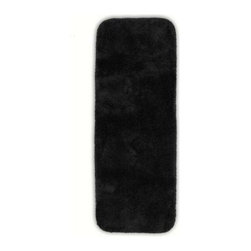 "Garland Rug - Bath Mat: Accent Rug: Finest Luxury Black 22"" x 60"" Bathroom - Shop for Flooring at The Home Depot. Beautify your bathroom and make your feet happy with Finest Luxury Bath Rugs. These rugs will compliment any bathroom decor and are available in a variety of colors and sizes. The super heavyweight solid color plush is a traditional sleek design. Finest Luxury is made with 100% Nylon for superior softness and colorfastness. Proudly made in the USA."