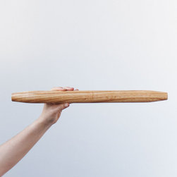 Fine Rolling Pin - From classic cake pedestals to rolling pins and bowls, no neo-country kitchen is complete without one handmade wooden piece from Herriott Grace.