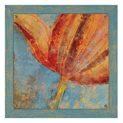 Paragon - Floral Dream I - Framed Art - Each product is custom made upon order so there might be small variations from the picture displayed. No two pieces are exactly alike.
