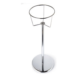Cuisinox - Cuisinox Wine Bucket Stand - Keep your favorite wine or champagne chilled during your meal and have extra room on the table. This solid stand accommodates most wine buckets. Its weighted base keeps it stable and secure.