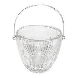 Baccarat - Baccarat Massena  Ice Bucket W/Handle - Baccarat Massena  Ice Bucket W/Handle