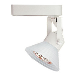 """WAC Lighting - WAC Lighting LHT-866 Low Voltage Track Heads Compatible with Lightolier Systems - 50W Single light track head for use with """"L"""" type connector. Equipped with a self contained electronic transformer. Available on 6"""", 12"""", 18"""", 36"""" or 48"""" inch extension rods (sold separately)."""