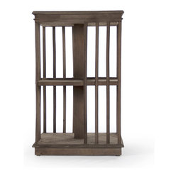 Zentique - Dante End Table, Large - The Dante End Table features a caged look. This end table comes in large and small. Sold separately.