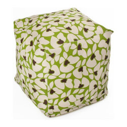 HRH Designs Inc - OC Fun Saks Cube Maui Pouf Multicolor - HRH-SQ015 - Shop for Ottoman & Footstools from Hayneedle.com! Put your feet up on theOC Fun Saks Cube Maui Pouf and use your new-found down-time to make up some new words like cube-ular. As in this cube-ular bean bag is stuffed with polyurethane beads inside a cotton cover giving you that classic bean-bag feel. On the outside you have a removable cover of durable polyester with a tropical floral pattern that adds a bit of light to any room or patio. The cover is machine-washable and tough enough for indoor or outdoor use.About OC FunsaksFor those not in the know OC is Orange County and that laid-back wind-in-the-hair charm that you only find on the coast is evident on every OC Funsaks product. Everything they offer is made in the USA with high-quality inserts and durable custom-designed slipcovers that give you the best in modern bean-bag charm. OC Funsaks is a new company that's got designs and quality that will keep them around for quite awhile.