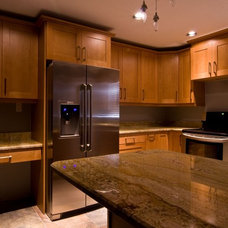 Contemporary Kitchen Cabinetry by McCabinet