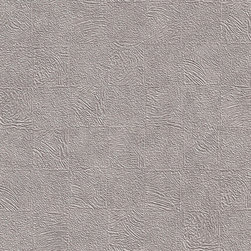 Romosa Wallcoverings - Grey Geometric Embossed Twilight Wallpaper - - Color: Grey