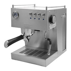Ascaso Steel UNO Professional Version 2 Brushed Stainless Espresso & Cappuccino