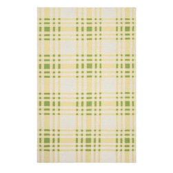 Country Living - Country Living SUR-HC5816 Happy Cottage Flatweave Hand Woven Wool Rug - From Country Living the Happy Cottage collection offers classic cottage inspired style in a fresh and cheerful color palette. Designs include classic farmhouse stripes, bold plaids, and vintage patterns, transforming any space into a cozy retreat. These flat pile reversible rugs are hand woven in India from 1% wool.