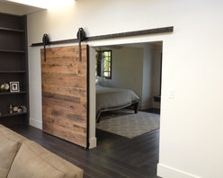 Sliding Barn Door - Tobacco Barn Wood - Thomas Porter