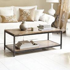 Industrial Coffee Tables by Ballard Designs