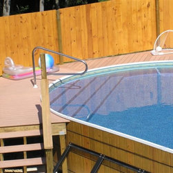 Above ground wooden swimming pools - David Byers