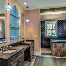 Eclectic Bathroom by Marcelle Guilbeau, Interior Designer