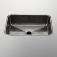 "Stainless Steel Rectangular Undermount Single Kitchen Sink 32"" x 20"" x 10"" — P"