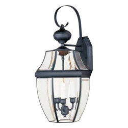 Maxim Lighting - Maxim Lighting 4192CLBU South Park 3-Light Outdoor Wall Lantern In Burnished - Features