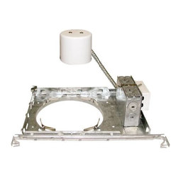 """NATIONAL BRAND ALTERNATIVE - Recessed Housing 8"""" CFL 1-26W New Work - Features:"""