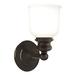 Hudson Valley Lighting - Hudson Valley Lighting 2301-OB Riverton Old Bronze Wall Sconce - Hudson Valley Lighting 2301-OB Riverton Old Bronze Wall Sconce
