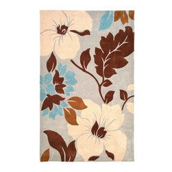 "Safavieh - Country & Floral Modern Art 2'6""x4' Rectangle Ivory - Multi Color Area Rug - The Modern Art area rug Collection offers an affordable assortment of Country & Floral stylings. Modern Art features a blend of natural Ivory - Multi Color color. Hand Tufted of Polyester the Modern Art Collection is an intriguing compliment to any decor."