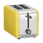 DeLonghi® kMix 2-Slice Toaster - A gorgeous yellow toaster and other appliances would make any dull kitchen stand out.