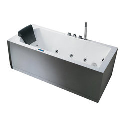Ariel Bath - AM154JDTSZ-R-70 Ariel Bath - Take a dip in this elegant whirlpool bathtub. Equipped with hydro-massage jets designed to target your pressure points for a relaxing experience.