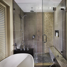 contemporary bathroom by Randall Mars Architects