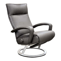 Lafer - Lafer Gaga Recliner Chair, Sand - A complete collection of reclining chairs of different models, colors and finishing options, all of them with the exclusive Lafer retractable footrest, and the independent headrest and backrest fine adjustments.