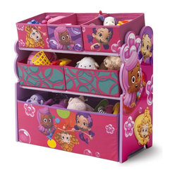 Baby & Kids Furniture - Teach your little one that organization can be fun with the Bubble Guppies Multi-Bin Toy Organizer.