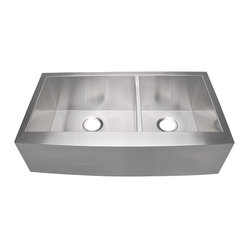 Lavello 36-inch Stainless Farmhouse Sink