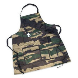 Grill Sergeant BBQ Apron - Get your grill on with the Grill Sergeant BBQ Apron!  Our unique camouflage grilling apron holds everything a real man could want or need for an afternoon of fun.