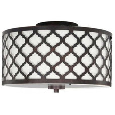 Mediterranean Flush-mount Ceiling Lighting by Home Depot