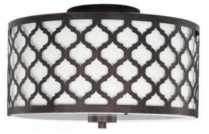 Mediterranean Flush-mount Ceiling Lighting by Home Depot