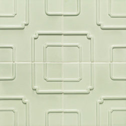 Studio Moderne Imperial Pattern by Walker Zanger - Studio Moderne is a groundbreaking collection of ceramic tile and stone created for Walker Zanger by noted interior designer Michael Berman. Inspired by Hollywood Regency, Art Deco and Classic Modernism, the bold architectural designs of Studio Moderne transcend the boundaries of the kitchen and bathroom. Featuring ceramic tile with dimensions as large as 18 inches by 20 inches, the collection inspires homeowners and designers alike to redefine their perception of tile.