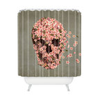 DENY Designs - Terry Fan Reincarnate Shower Curtain - Who says bathrooms can't be fun? To get the most bang for your buck, start with an artistic, inventive shower curtain. We've got endless options that will really make your bathroom pop. Heck, your guests may start spending a little extra time in there because of it!