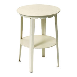 GO Home Ltd - GO Home Ltd Vintage Farmhouse Farmers Stool Side Table -