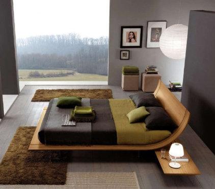 Contemporary Beds Platform Bed