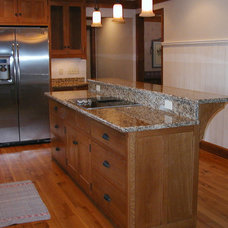 Traditional Kitchen Islands And Kitchen Carts by Schmidt Carpentry