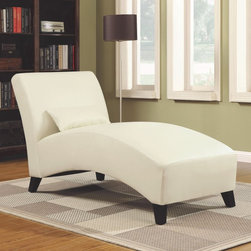 Handy Living - Handy Living Chaise Lounge - Renu Cream Multicolor - 340CL-DAB25-084 - Shop for Chaises from Hayneedle.com! A creamy leather blend means the Handy Living Chaise Lounge - Renu Cream will light up your living area. Toss out your worries as you rest in this luxurious lounger. Made with a sturdy wood frame and luxurious renu material you won't need to worry too much about cleaning this contemporary chair. Its matching pillow adds the final touch of style.About Handy LivingHandy Living applauds innovation and has designed furniture that is modular and can fit in standard sized shipping boxes making it convenient and easy for customers to incorporate beautiful pieces into their homes. This furniture is high quality easy to assemble stays safe in shipping and is affordable. From designer fashions in fabric and style to multi-layered cushions for comfort Handy Living's furniture offers quality construction at a reasonable price.