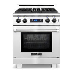 """American Range 30"""" Medallion Range, Stainless Steel 