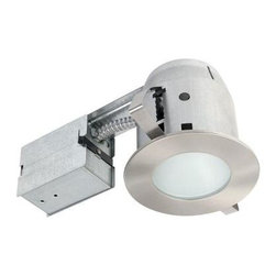 Globe Electric - Globe Electric 4 in. Recessed Brushed Nickel Shower Lighting Kit 90664 - Shop for Lighting & Fans at The Home Depot. Globe Electric 90664 4 in. Shower Recessed Lighting Kit, Brushed Nickel Finish. Quick and Easy Installation: includes extra-wide, patented clips that grip uneven holes and surfaces to secure effortlessly into position. Superior fit for a smarter, faster installation. Globe recessed light fixtures are the ideal choice for showers; light illuminates wide areas. This shower can recessed light fixture includes frosted tempered glass.