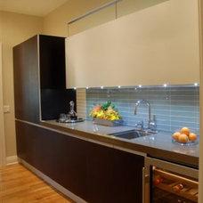 Contemporary Kitchen Contemporary Butler's Pantry