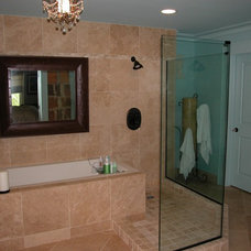 Contemporary Bathroom by Saunders Bradford
