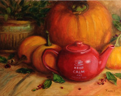 """""""Keep Calm"""" (Original) By Tatiana Roulin - """"Keep Calm"""" Is Directly Painted Artwork, Created In Alla Prima Technique."""