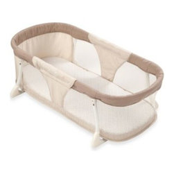 Summer Infant - Summer Infant By Your Side Sleeper - Designed with your baby's safety and comfort in mind, this side sleeper has a sturdy metal frame to keep anyone from rolling into it. The mesh sides help maintain a comfortable temperature, and let you easily see your little one inside.
